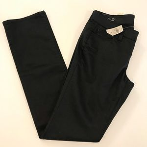Ann Taylor | black coated jeans